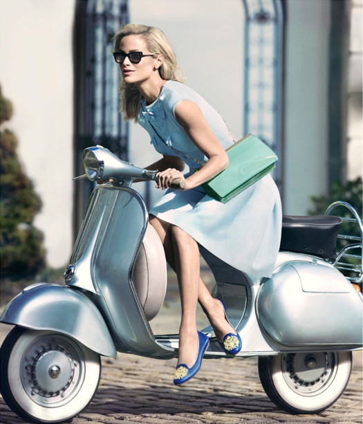 Carolyn Murphy by Mikeal Jansson for Carlo Pazolini Campaign 2013 3