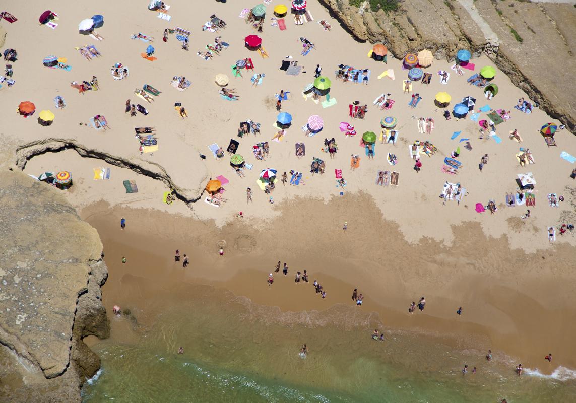 Gray Malin A La Plage A La Piscine lisbon-rocky-beach