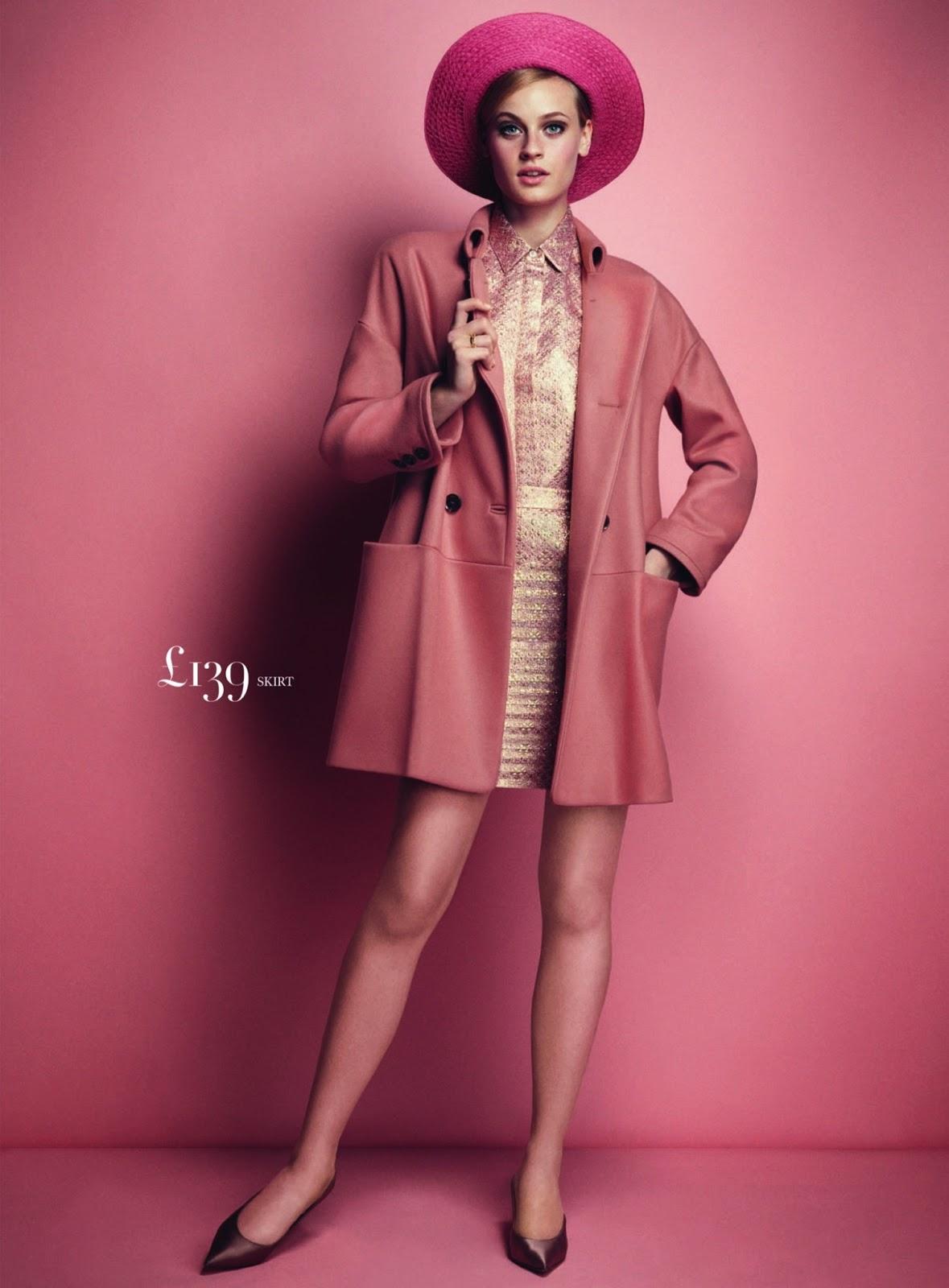 Pretty in pink Paulina Heiler By Dima Hohlov for Uk Harper's Bazaar3