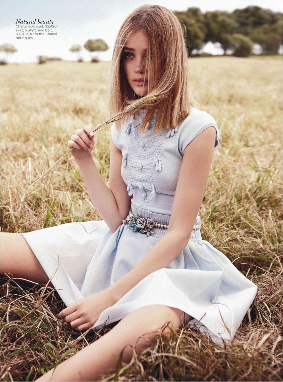 Field of Dreams Rosie Tupper by Nicole Bentley for Vogue Australia 2