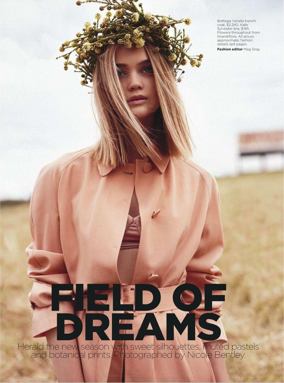 Field of Dreams Rosie Tupper by Nicole Bentley for Vogue Australia 3