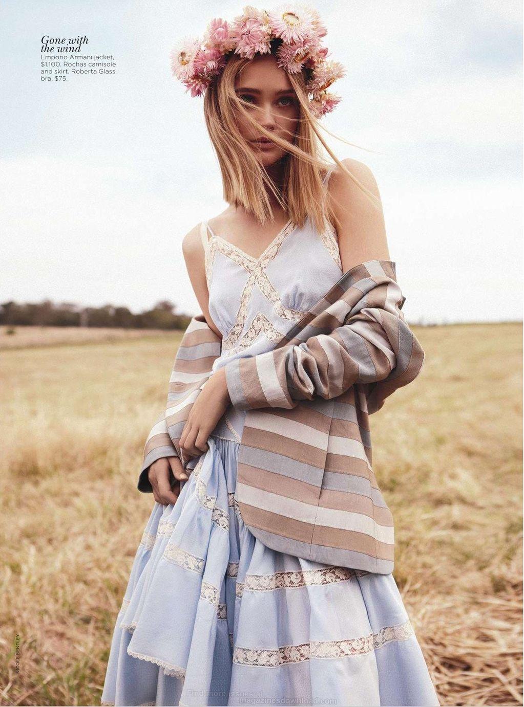 Field of Dreams Rosie Tupper by Nicole Bentley for Vogue Australia 4