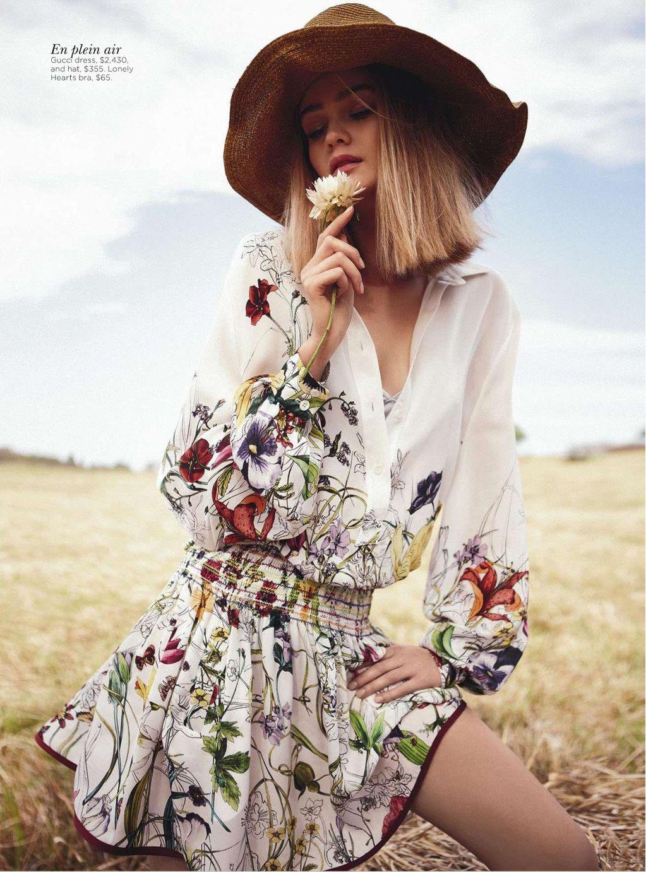 Field of Dreams Rosie Tupper by Nicole Bentley for Vogue Australia 5