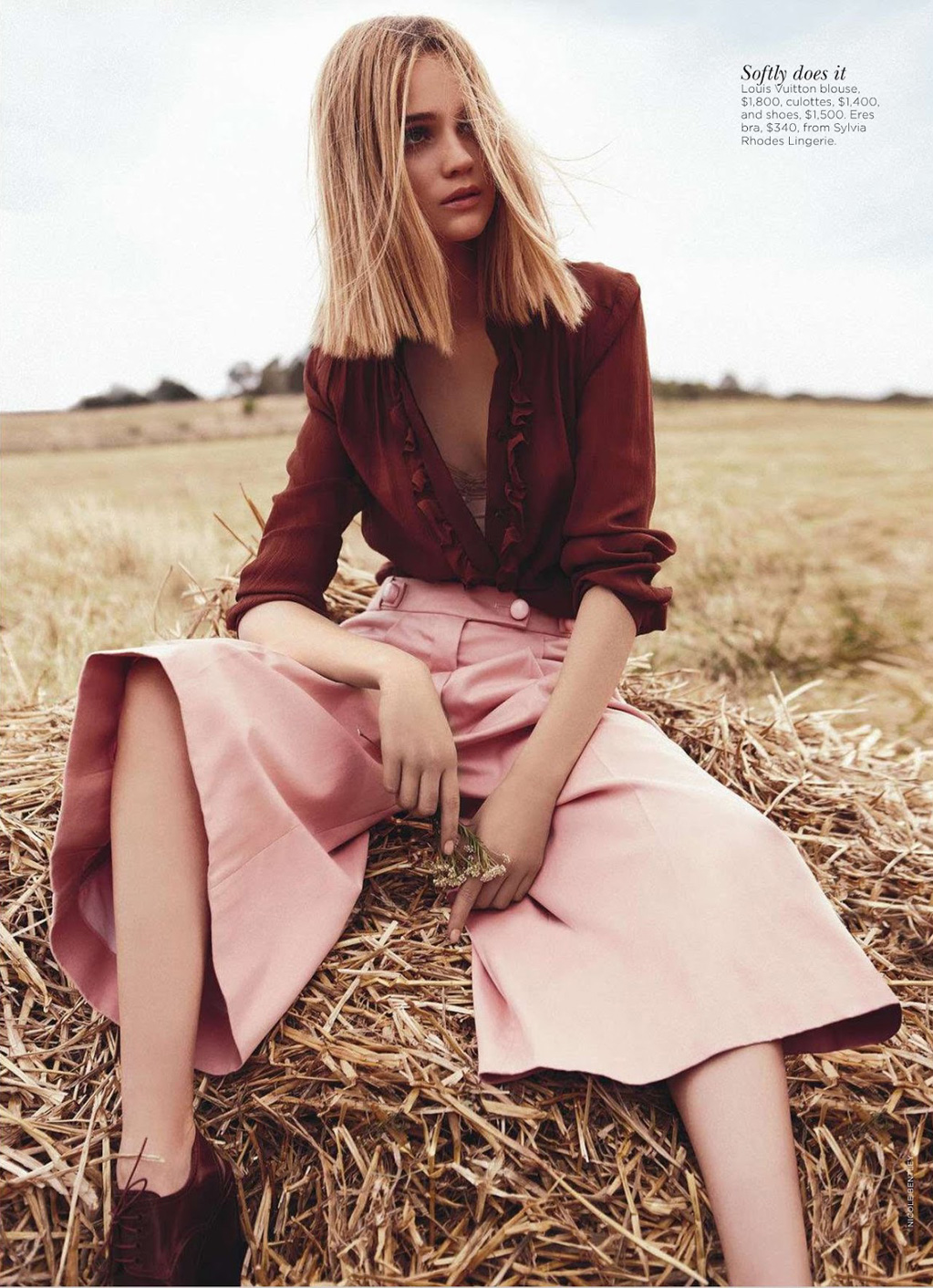 Field of Dreams Rosie Tupper by Nicole Bentley for Vogue Australia 7