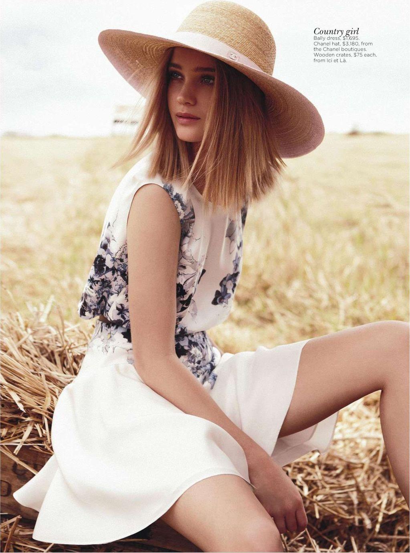 Field of Dreams Rosie Tupper by Nicole Bentley for Vogue Australia 8
