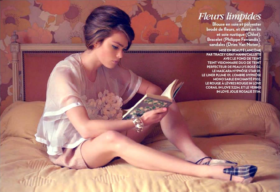 Sophie Vlaming by René & Radka for Marie Claire France March 2013 2