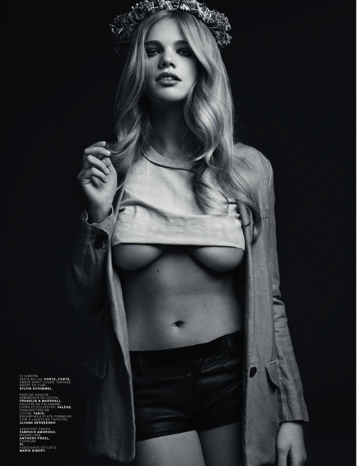 Cicciolinas Valerie Van Der Graaf And Amber Anderson By Stian Foss For Jalouse May 2013 17