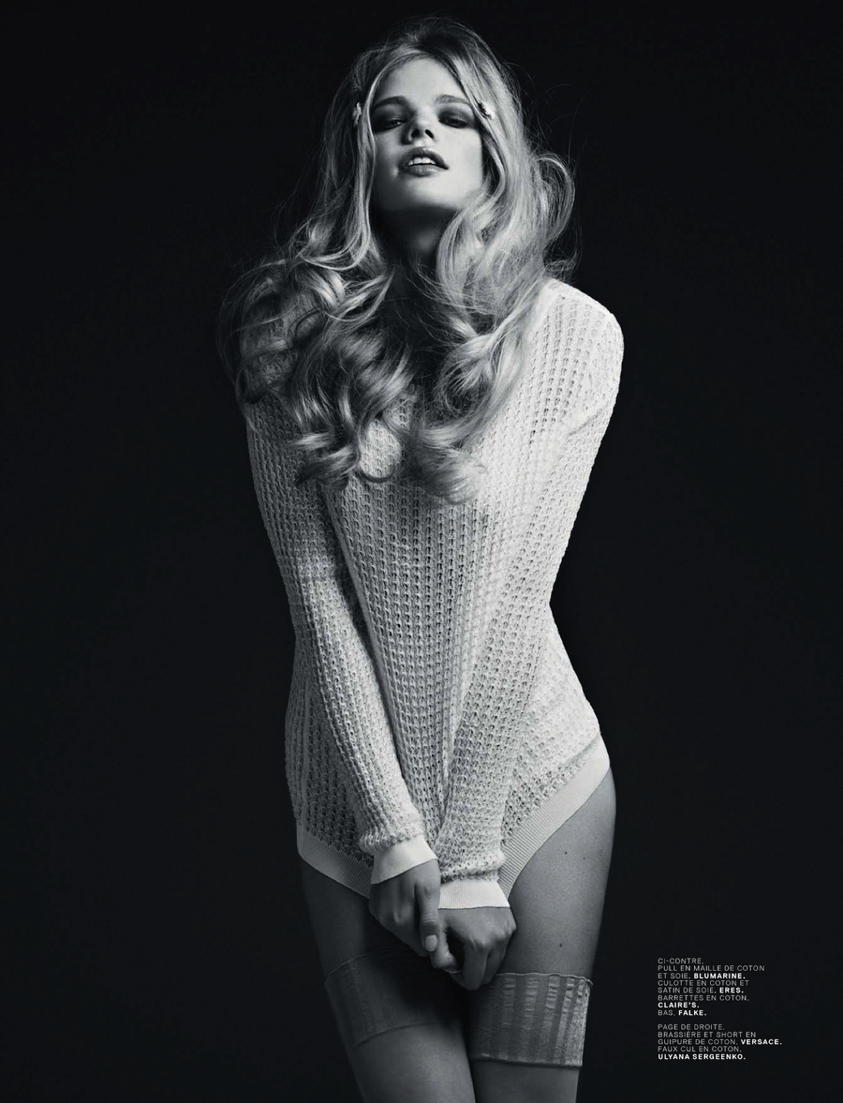 Cicciolinas Valerie Van Der Graaf And Amber Anderson By Stian Foss For Jalouse May 2013 2