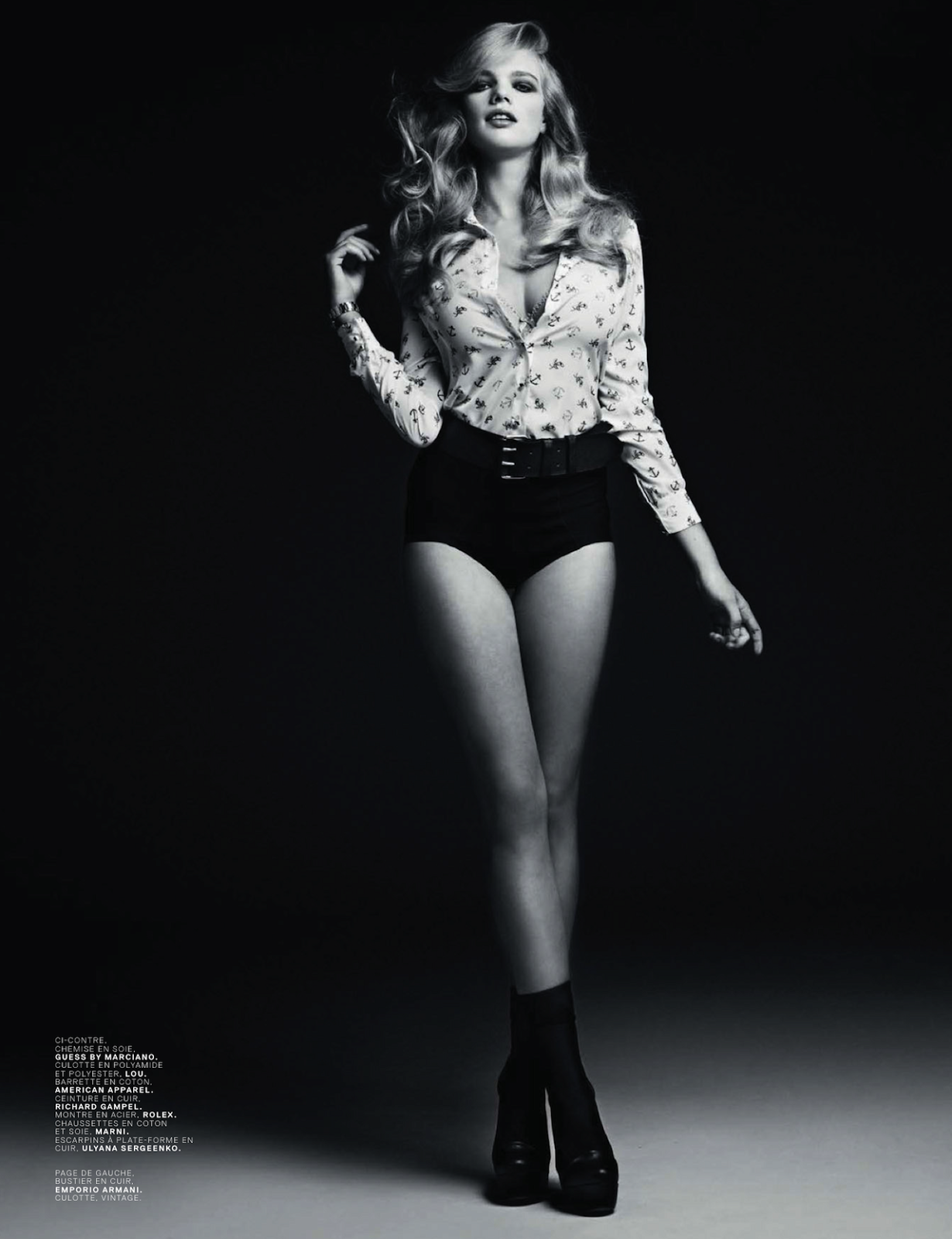 Cicciolinas Valerie Van Der Graaf And Amber Anderson By Stian Foss For Jalouse May 2013 5