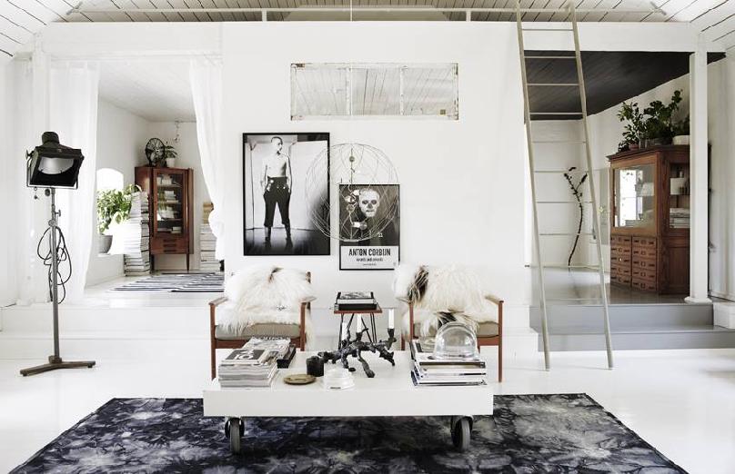 Scandinavian home by photographer Lotta Agaton 1