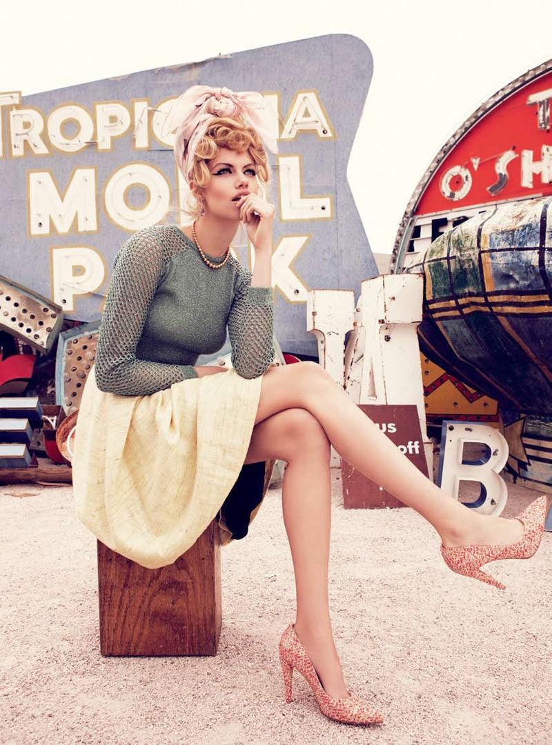 Viva, Las Vegas Hailey Clauson by Nicole Bentley for Vogue Australia 14