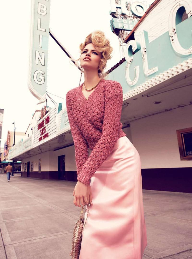 Viva, Las Vegas Hailey Clauson by Nicole Bentley for Vogue Australia 5