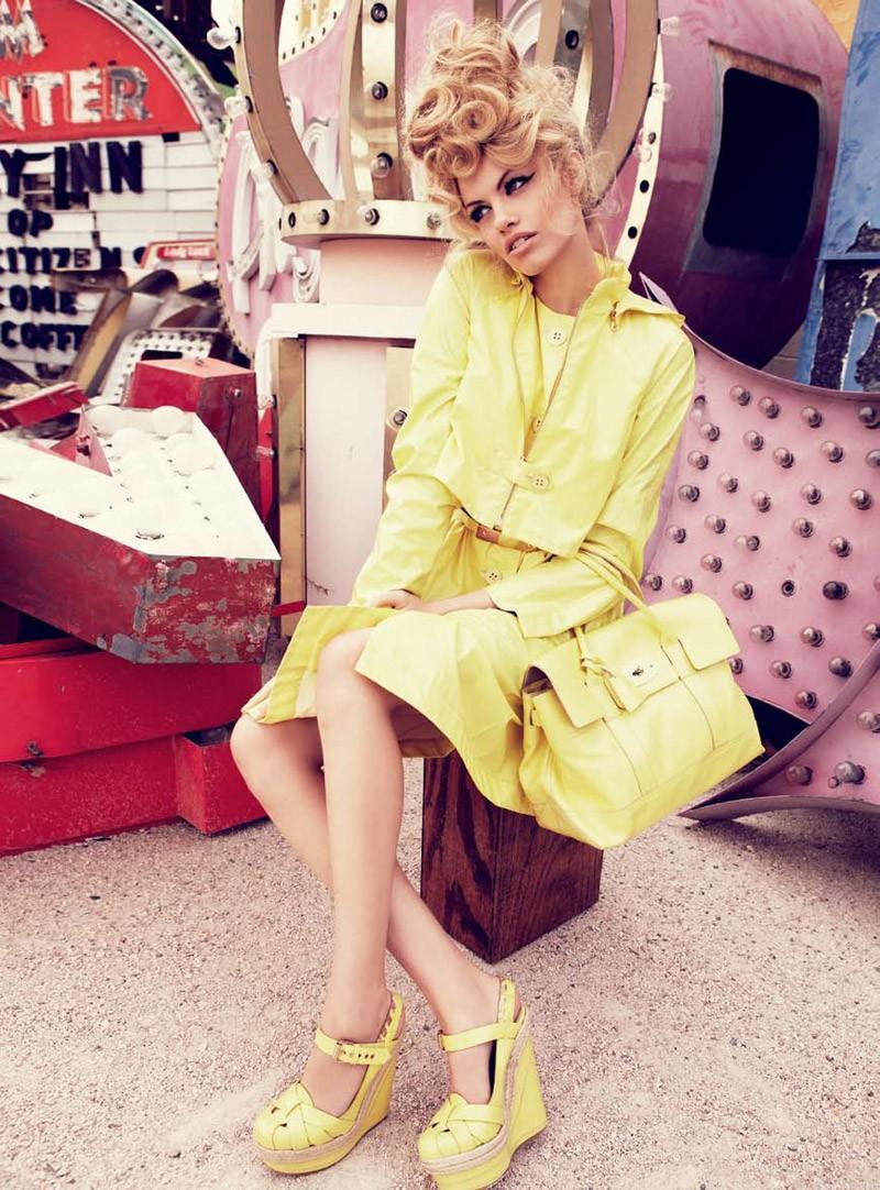 Viva, Las Vegas Hailey Clauson by Nicole Bentley for Vogue Australia 9