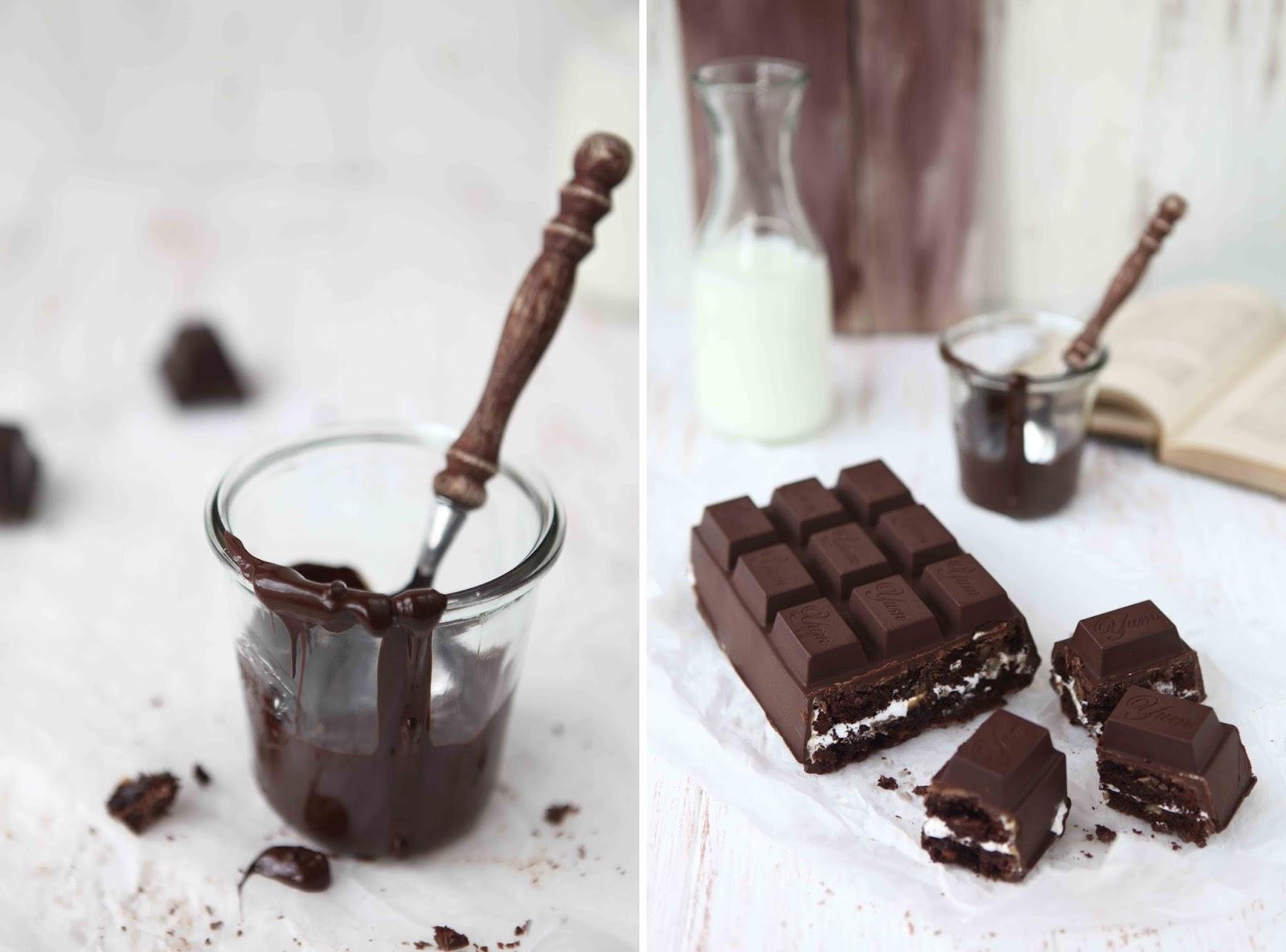 Caramel marshmallow brownie chocolate bar 2