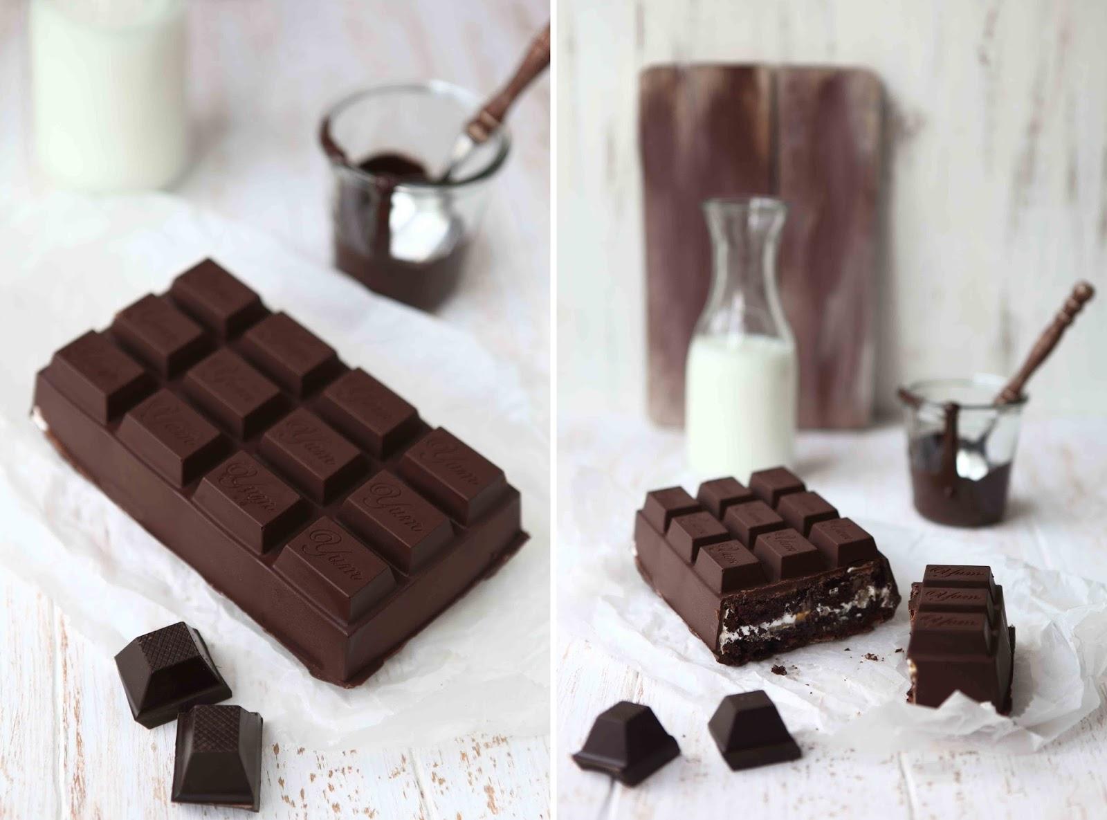 Caramel marshmallow brownie chocolate bar 4
