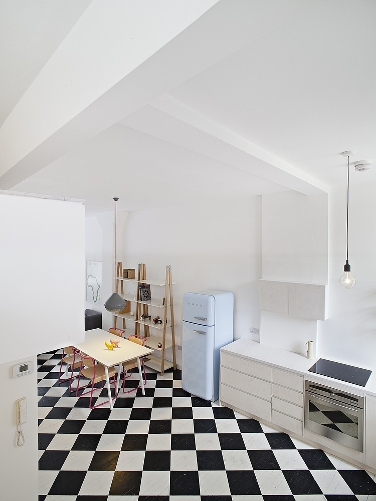 London apartment by Russian for Fish 5