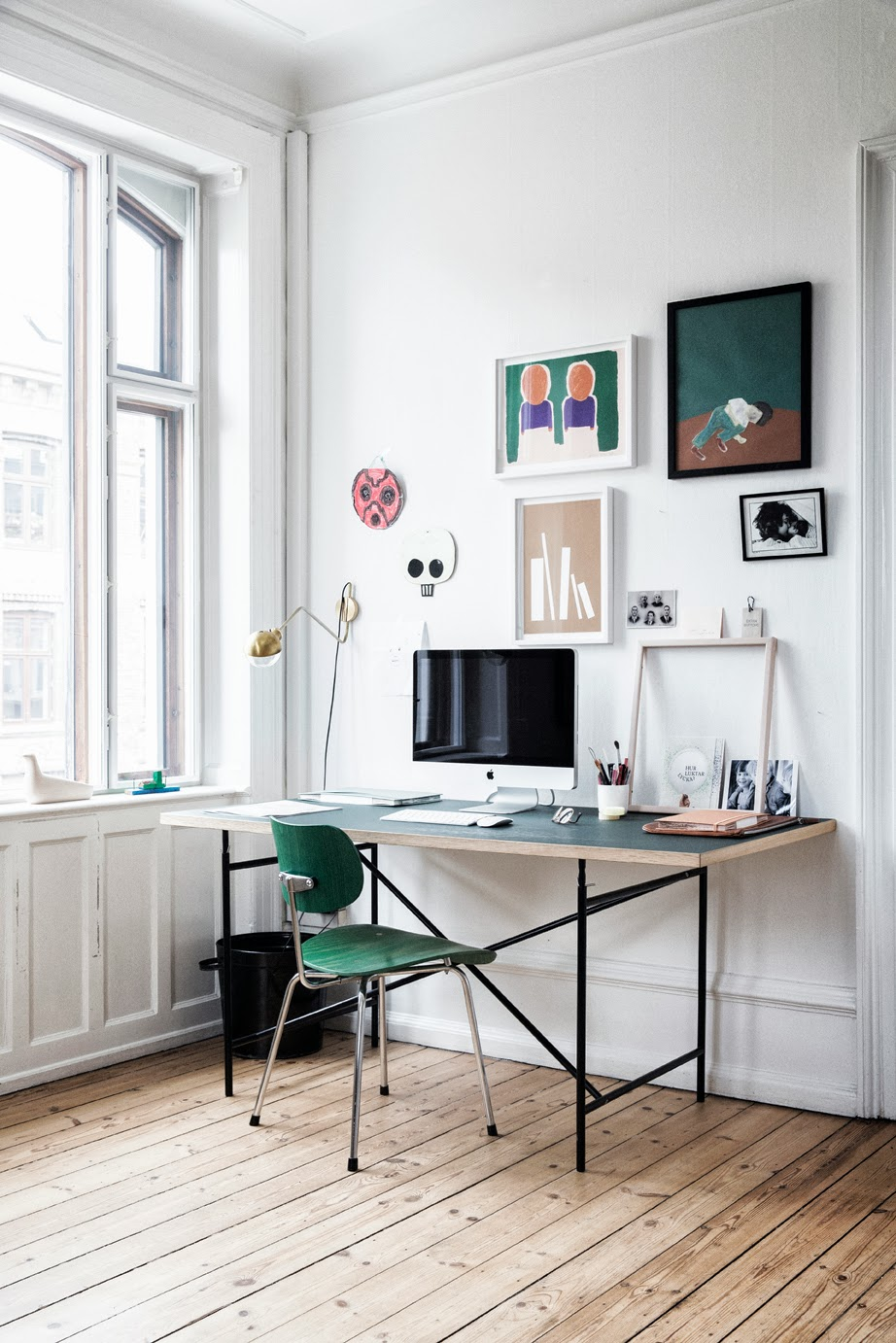 The home of graphic designer Tanja Vibe for Elle Decoration 1