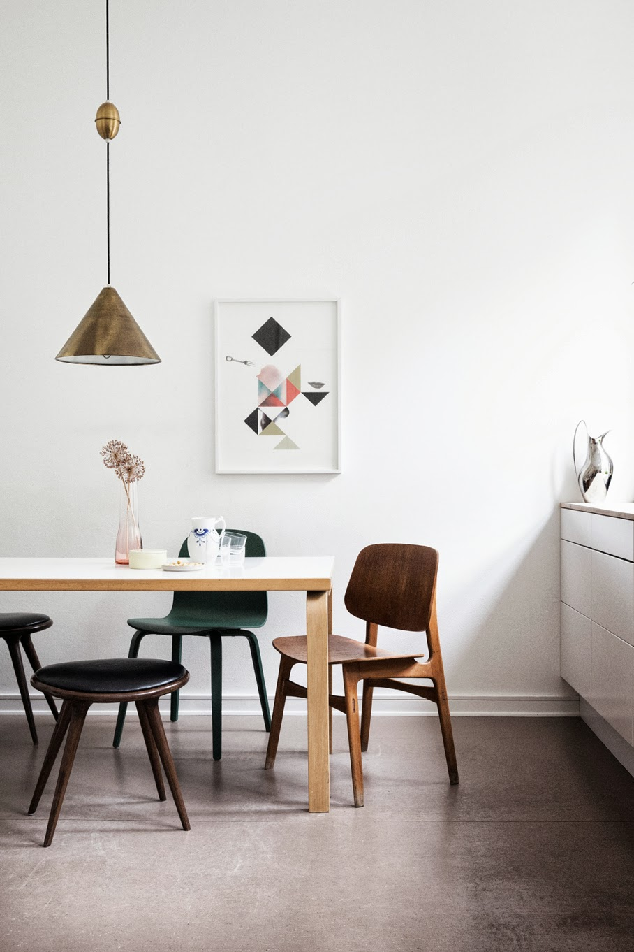 The home of graphic designer Tanja Vibe for Elle Decoration 3