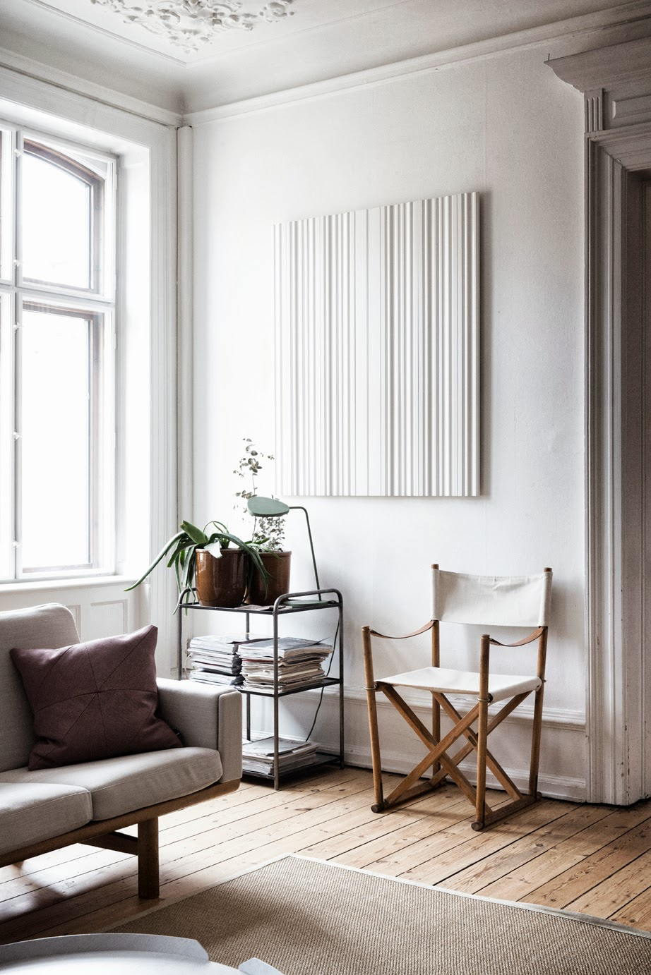 The home of graphic designer Tanja Vibe for Elle Decoration 4