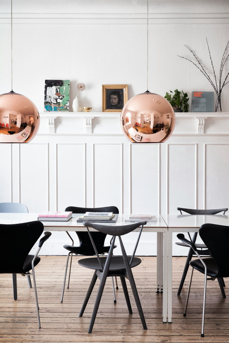 The home of graphic designer Tanja Vibe for Elle Decoration 6