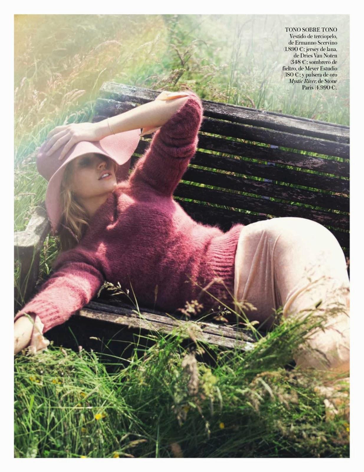 Toni Garrn by David Bellemere for Vogue Spain October 2013 4