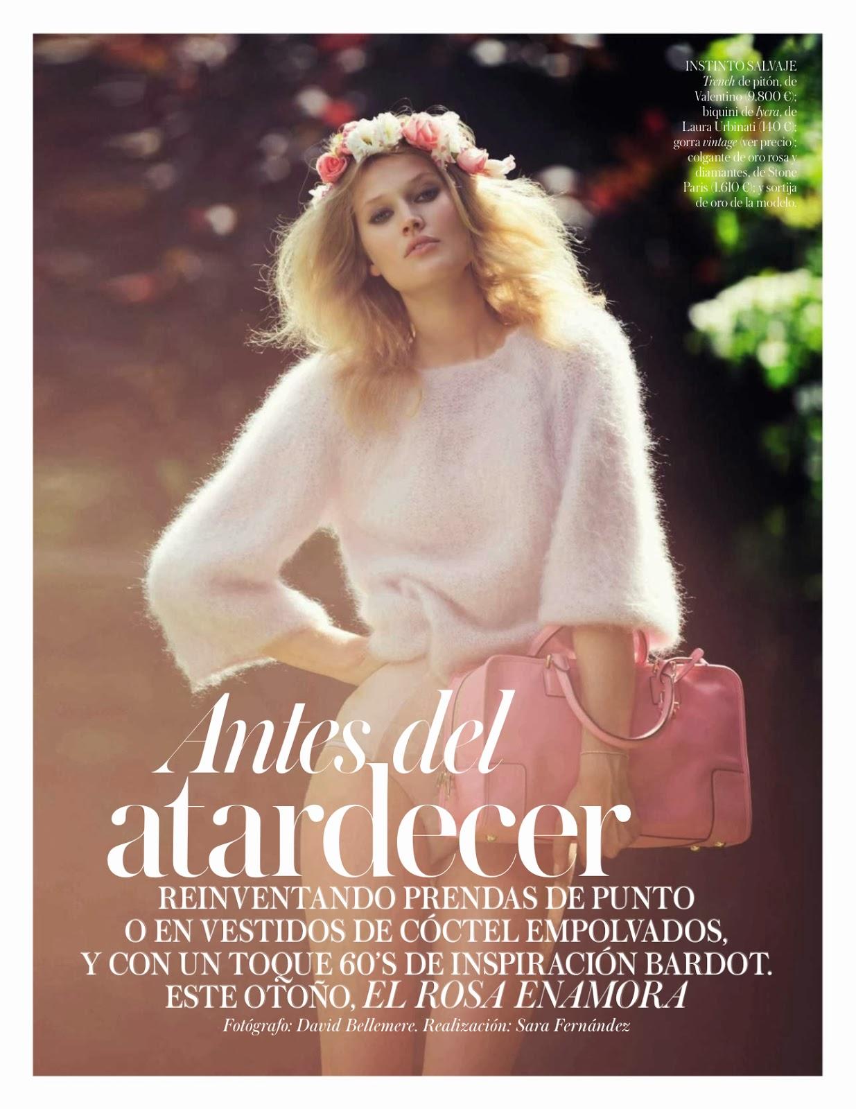 Toni Garrn by David Bellemere for Vogue Spain October 2013 5