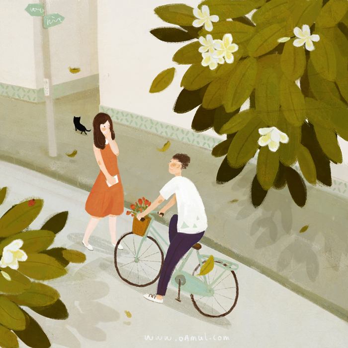 Lovely animations by Chinese illustrator Oamul 8