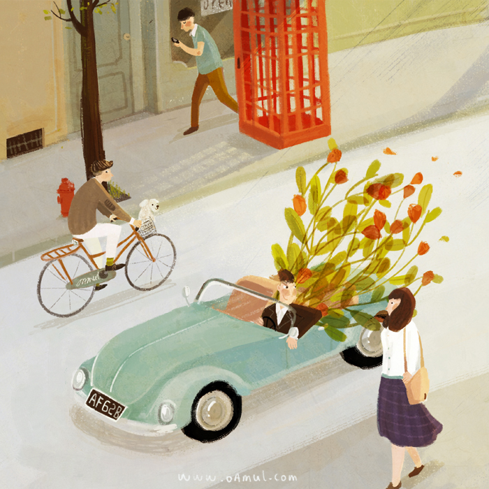 Lovely animations by Chinese illustrator Oamul 9