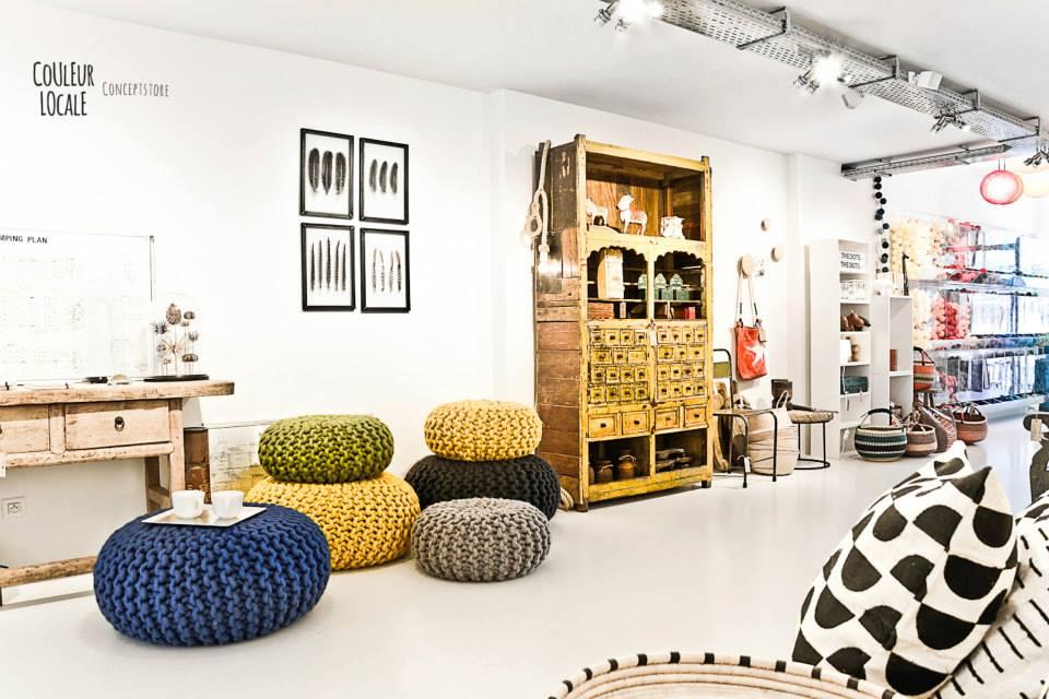 Couleur Locale Concept store in Belgium 1