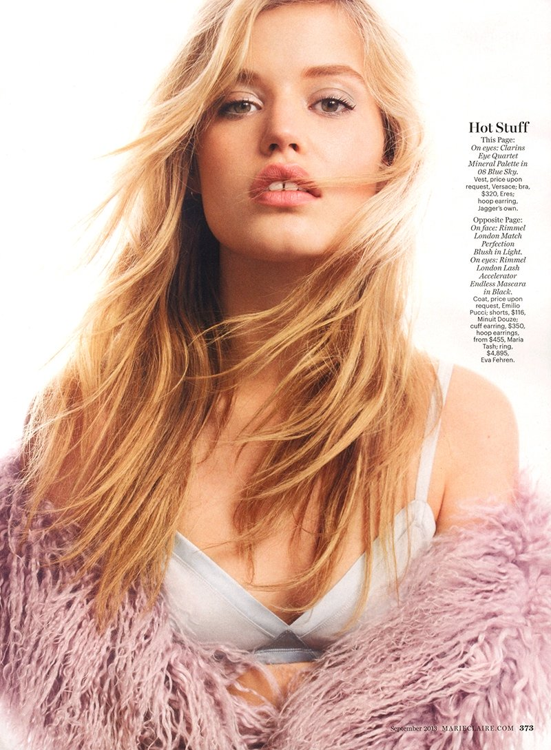 Sweet Georgia May - Georgia May Jagger by Alex Cayley in Marie Claire 2