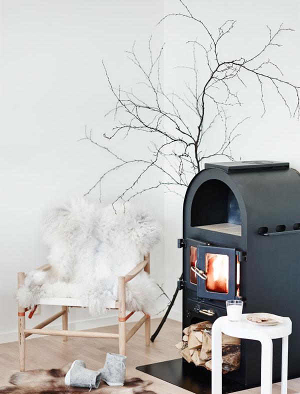 Winter Scandinavian home 5