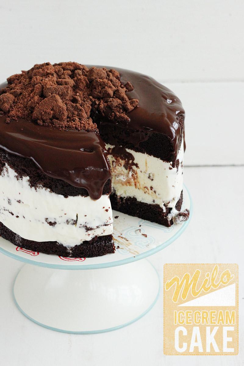 Milo ice cream cake by The sugar hit 4