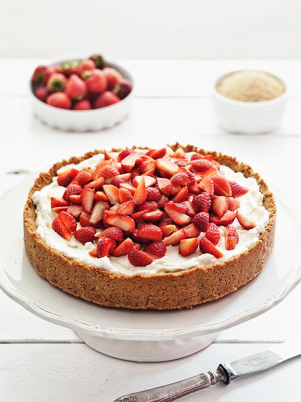 Strawberry mascarpone tart by  okuchnia 1