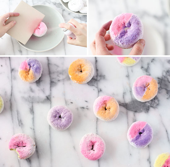 Amazing ombre coloured doughnuts by papper and stitch - Jelanie 3