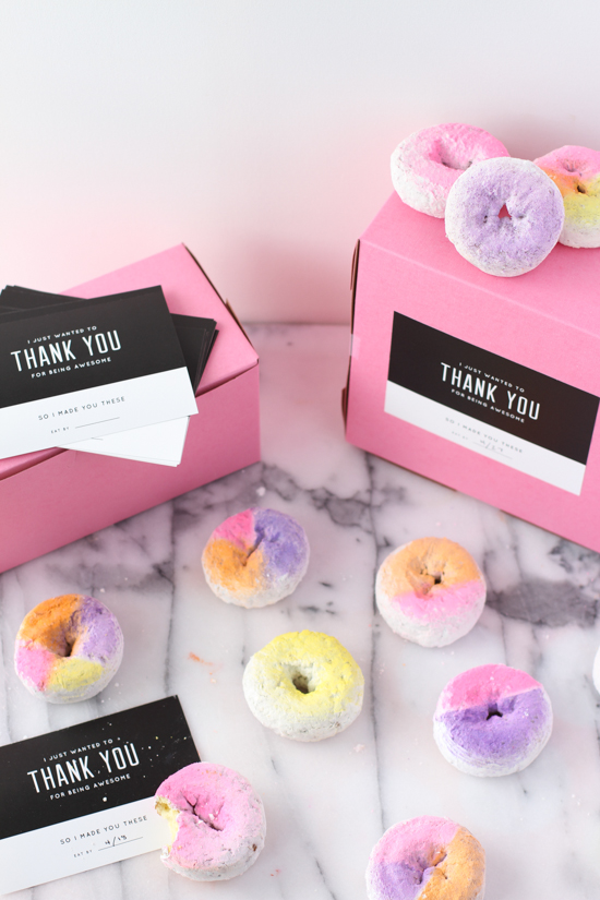 Amazing ombre coloured doughnuts by papper and stitch - Jelanie 4