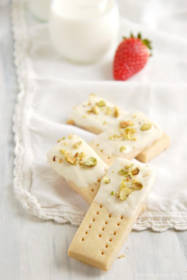 White Chocolate Pistachio Shortbreads by Kitchen McCabe - Jelanie 4