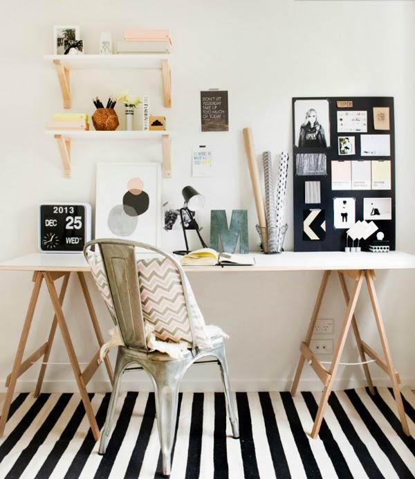 Scandivian-Home-study-room - Jelanie