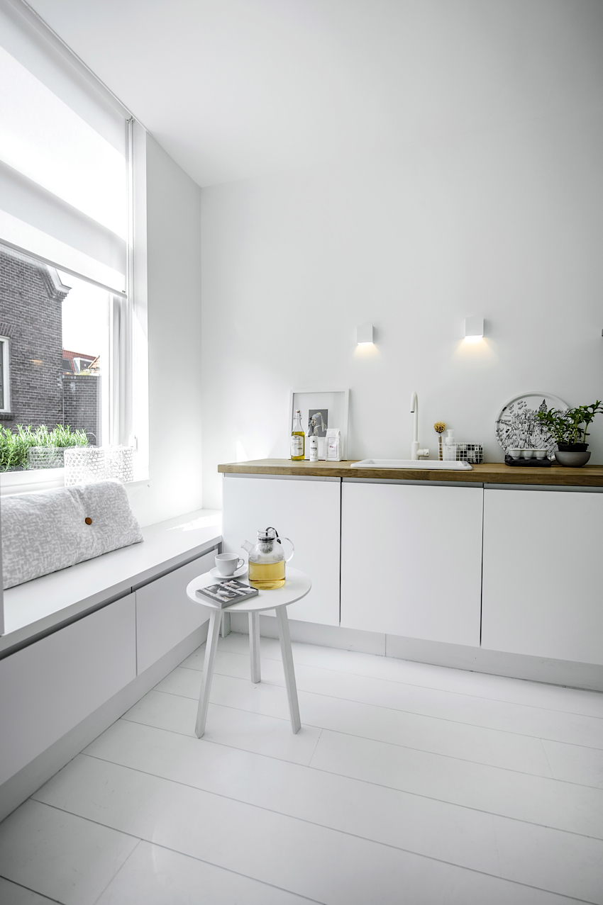 Jelanie blog - White and light home in Delft 3