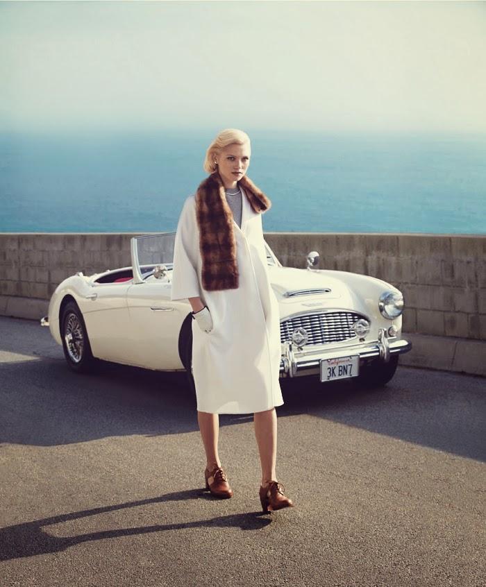 Jelanie blog - Retro styled Hana Jirickova For Harper's Bazaar 2