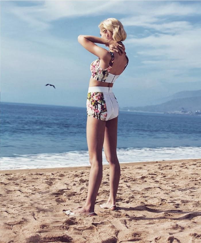 Jelanie blog - Retro styled Hana Jirickova For Harper's Bazaar 3