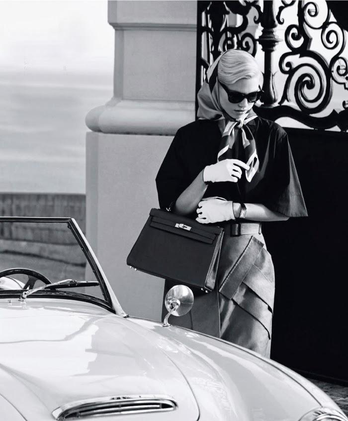 Jelanie blog - Retro styled Hana Jirickova For Harper's Bazaar 4