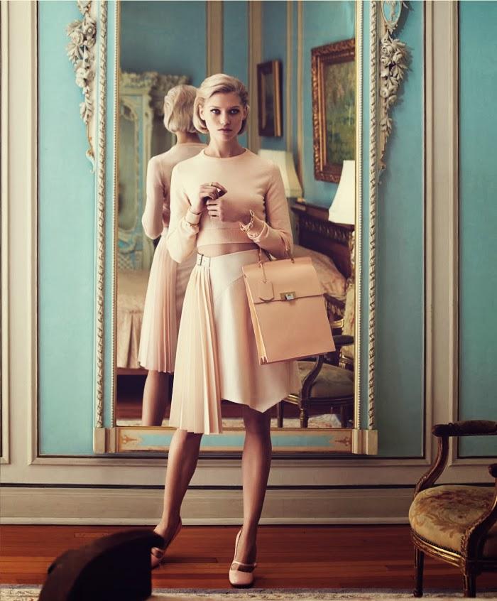 Jelanie blog - Retro styled Hana Jirickova For Harper's Bazaar 5