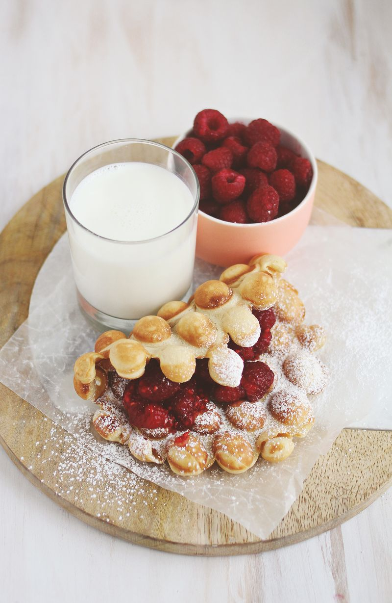 Jelanie blog - Peanut butter bubble waffles 1