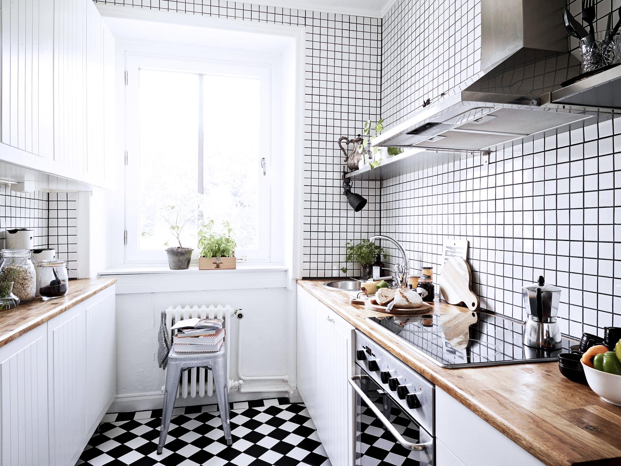 Jelanie blog - Small Scandinavian home - kitchen