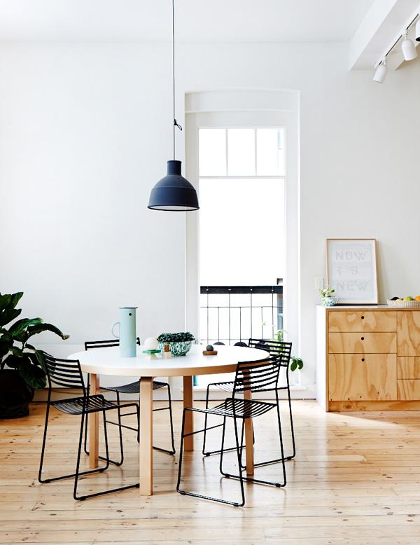 Jelanie blog - Muuto pendants - Unfold and E27 lamps 1