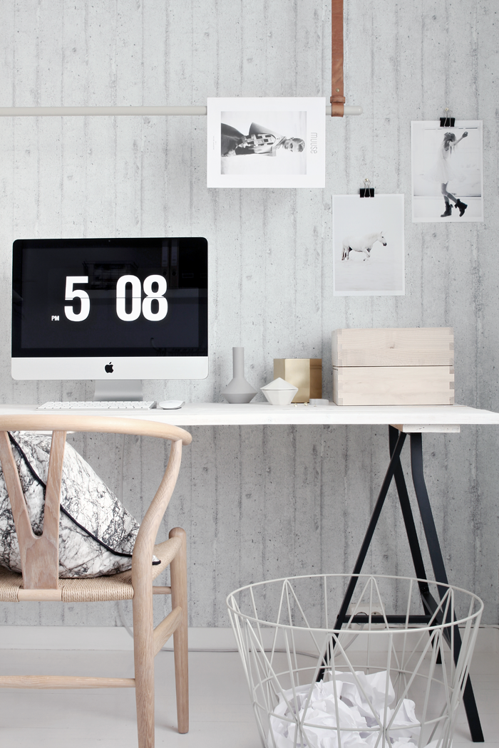 Jelanie blog - ferm LIVING in the office 1