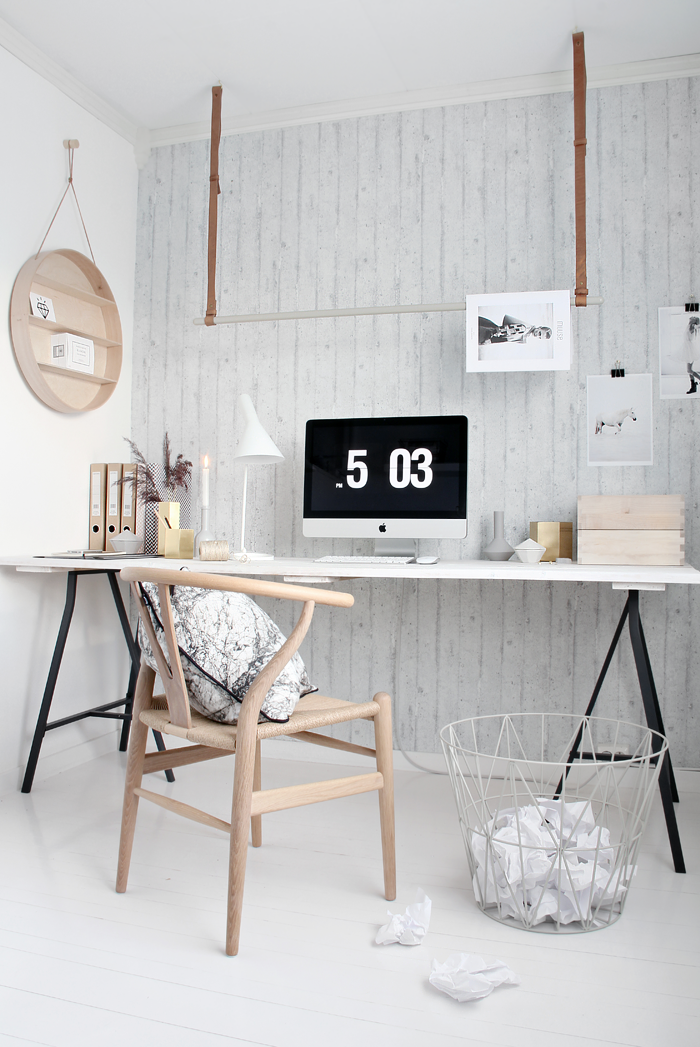 Jelanie blog - ferm LIVING in the office 4