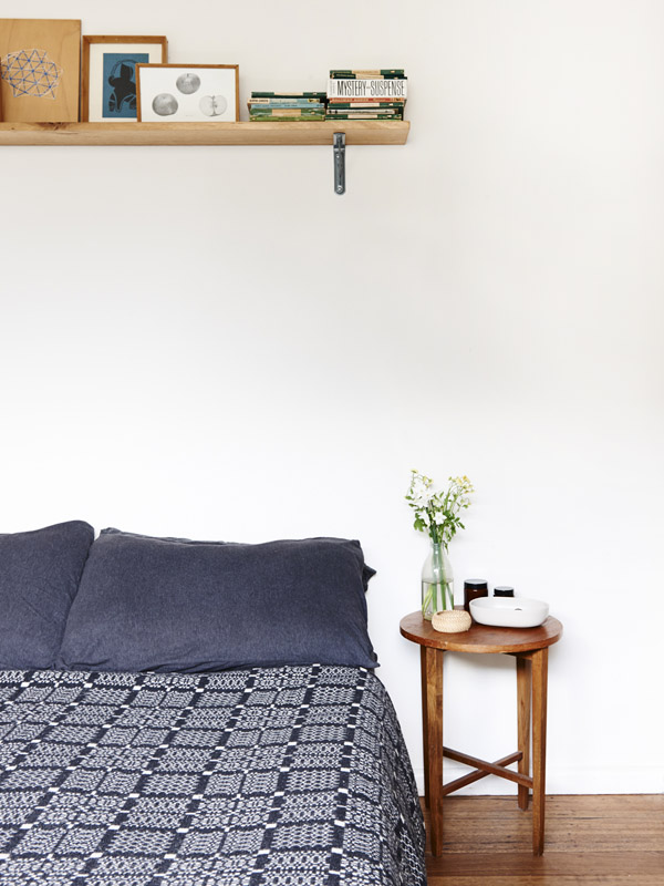 Jelanie blog - The Melbourne home of Suzy Tuxen and Shane Loorham - bedroom