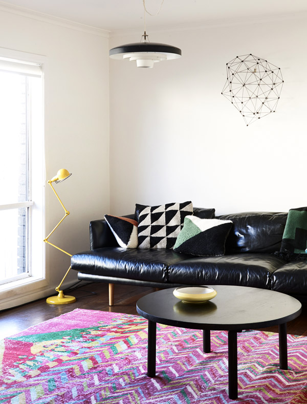 Jelanie blog - The Melbourne home of Suzy Tuxen and Shane Loorham - lounge
